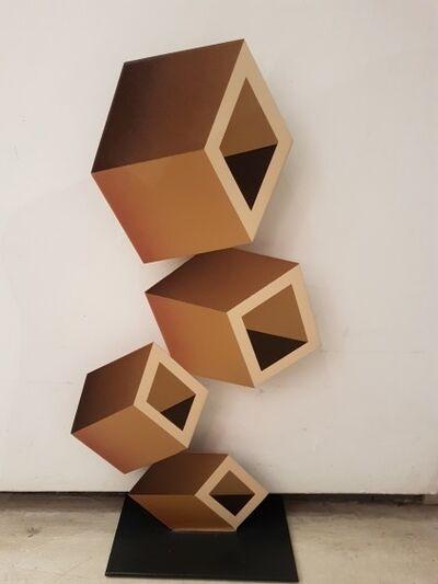 Daniel Sanseviero, ' beige sculpture', 21t Century