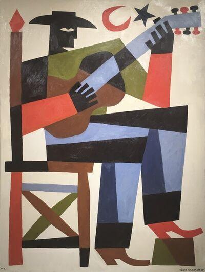 Jon Flaming, 'Cowboy Playing A Guitar', 2019