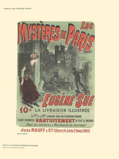 Jules Chéret, 'Jules Cheret - Les Mysteres de Paris par Eugene Sue - 1897', 1897