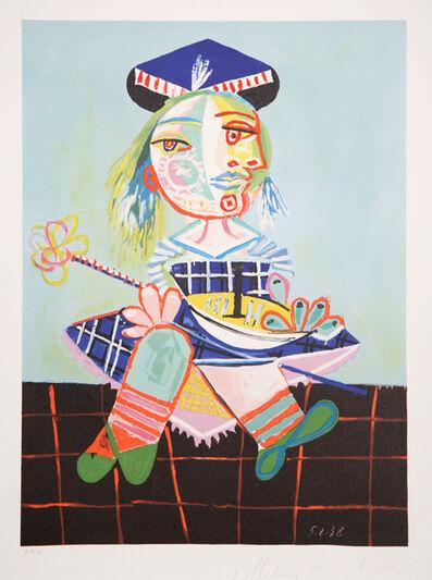 Pablo Picasso, 'La Fille de l'Artiste a Deux Ans et Demi avec un Bateau, 1938', 1979-1982