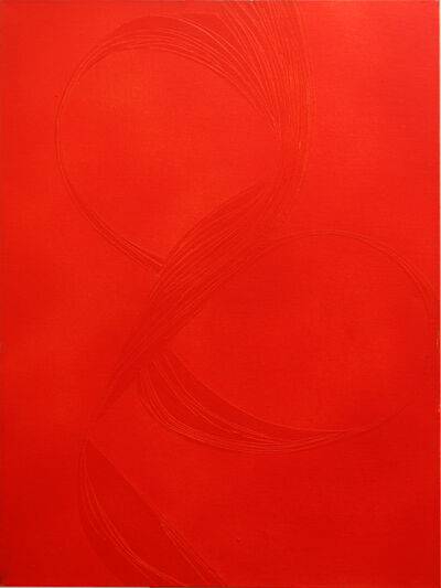 June Harwood, 'Ribbon (Red)', 1967