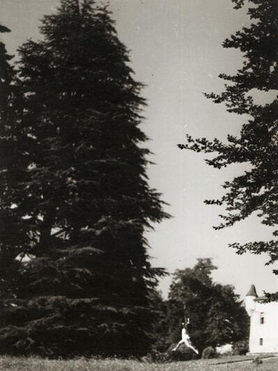 Jacques Henri Lartigue, 'Huguette Sabouret au Château des Essarts, Veyvialle, France', 1942