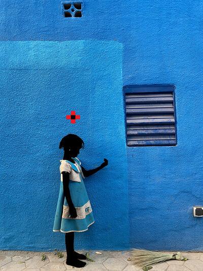 Saidou Dicko, 'The princess blue prise, Act 1', 2021