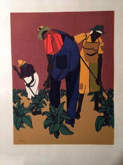 Robert Gwathmey, 'TOBACCO FARMERS', 1947