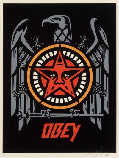 Shepard Fairey, 'Slayer Eagle', 2002