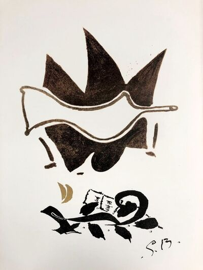 Georges Braque, 'Composition', 1956