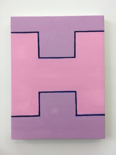 Chris Esposito, 'Pink: Blue (H) #2'