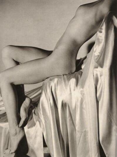 Horst P. Horst, 'Lisa on Silk - Torso and Legs', 1940