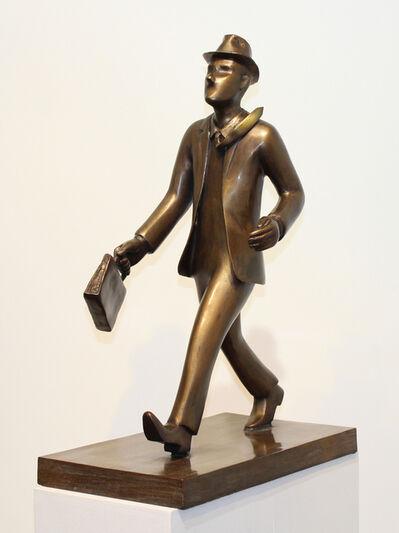 David Gerstein, 'Business man walking', 2018