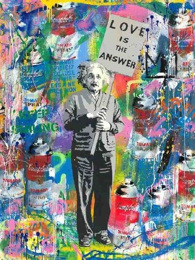 Mr. Brainwash, 'Silkscreen and Mixed Media on Paper', 2020