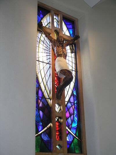 Mark Coreth, 'Christ crucified',  2011