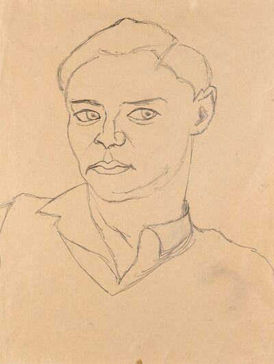 Ottone Rosai, 'Ritratto', 1952