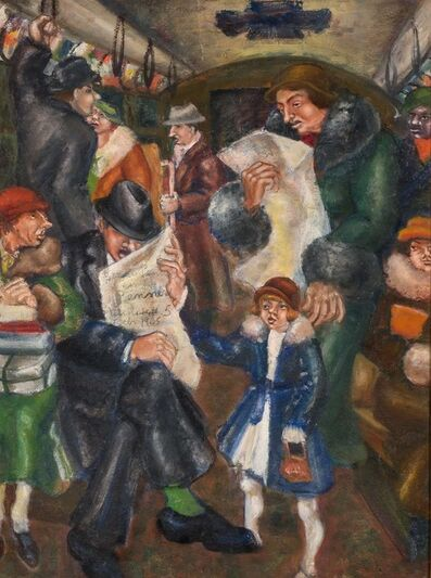 Bereneice Penner, 'Passengers', 1935