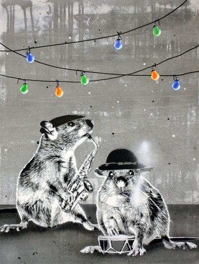 Hama Woods, 'Rat Pack Party', 2015
