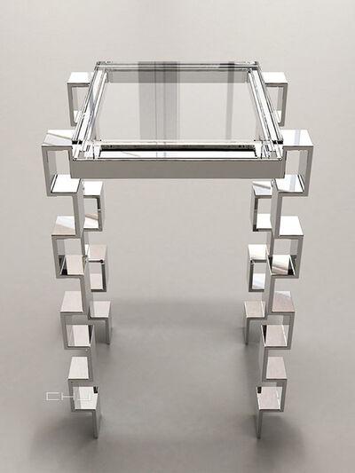 Charles Hollis Jones, 'Link Accessory Table', 2014