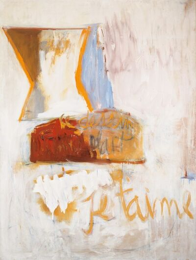Robert Motherwell, 'Je t'aime No. III with Loaf of Bread', 1955