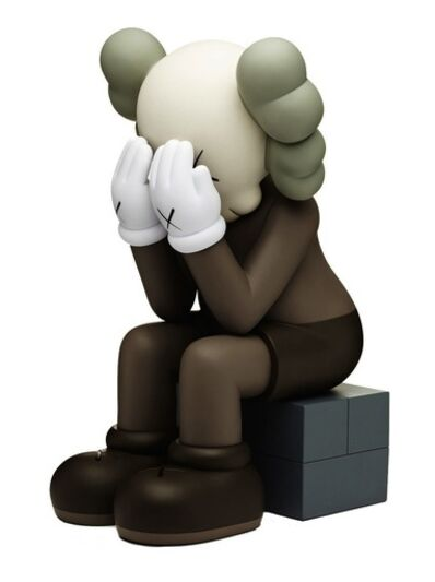 KAWS, 'Passing Through (Brown)', 2013