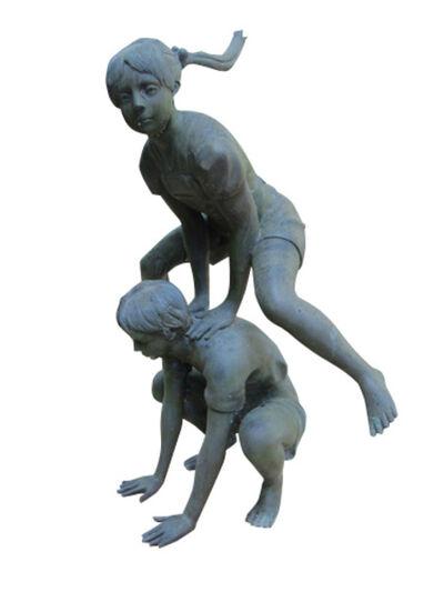 Auguste Moreau, 'Leap Frog Children', 2000