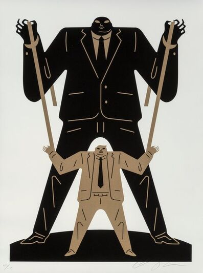 Cleon Peterson, 'Little Big Man Putin/Trump', 2018