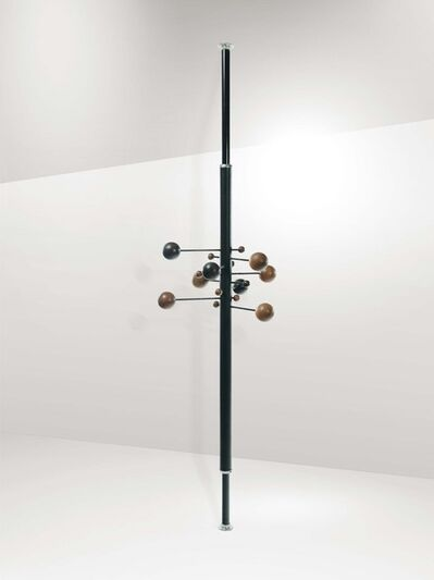 Osvaldo Borsani, 'A mod. AT16  coat rack, extendable, swiveling and adjustable in height', 1960 ca.