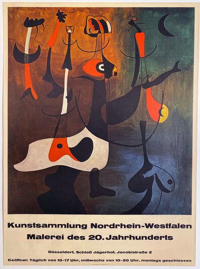Miro, 'Kunstsammlung Nordrhein-Westfalen, Malerei des 20. Jahrhunderts', ca. 1955