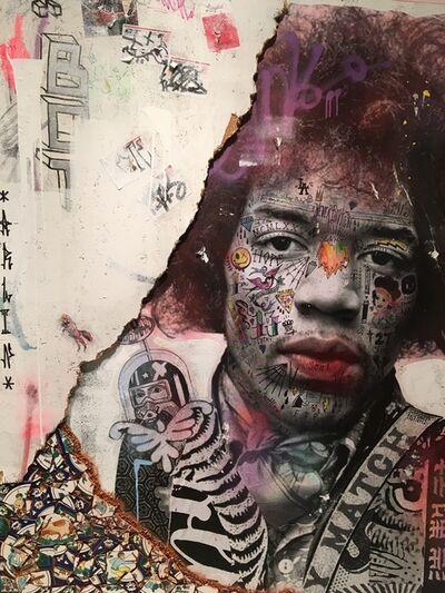 Stikki Peaches, 'Jimi Hendrix', 2018