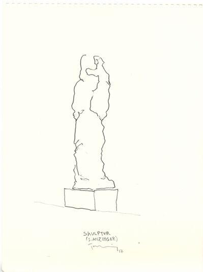 Paul Thuile, 'Skulptur (S. Anzinger)', 2016-2017