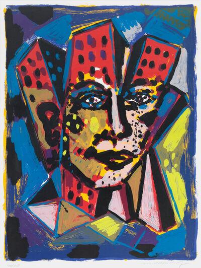 Helmut Middendorf, 'Häuserkopf', 1991