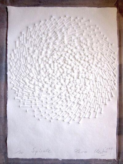 Günther Uecker, 'Spirale', 2013