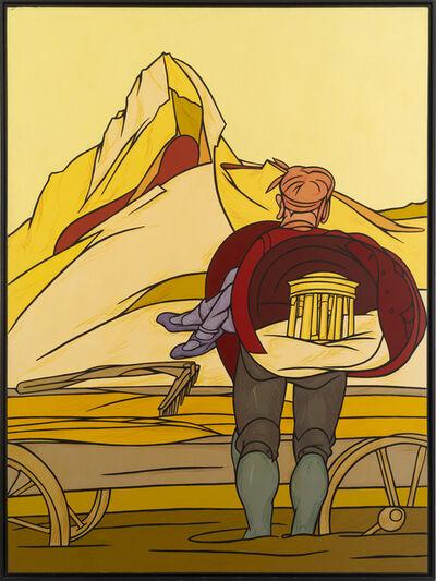 Valerio Adami, 'L'Ascensione', 1984