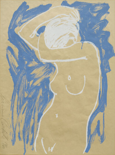 Luciano Castelli, 'Akt Blau Weiss', 1995-2005