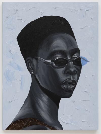 Otis Kwame Kye Quaicoe, 'Lady in Sunglasses', 2020