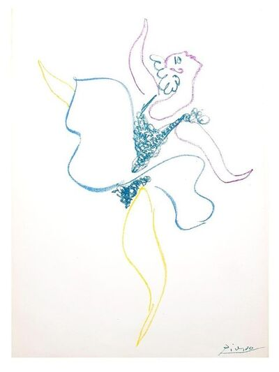 Pablo Picasso, 'Pablo Picasso - The Ballet Dancer - Original Lithograph', 1954