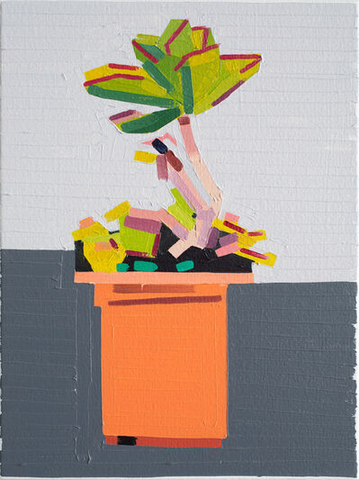 Guy Yanai, 'Plant on Path', 2019