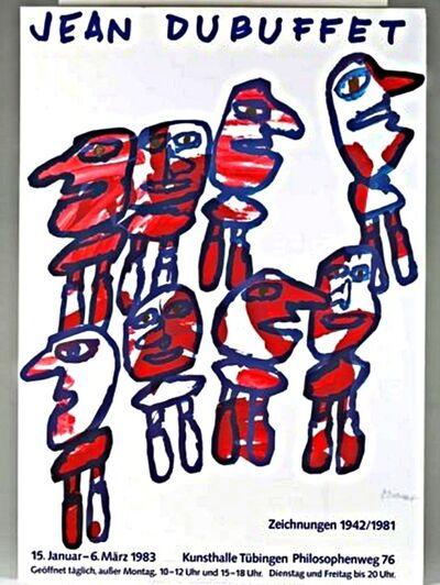 Jean Dubuffet, 'Zeichnungen 1942/1981 (Hand Signed)', 1983