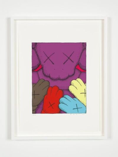 KAWS, 'URGE #8 PURPLE', 2020