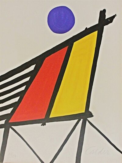 Alexander Calder, 'Blue Sun from Conspiracy: The Artist as Witness', 1971