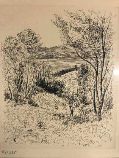André Dunoyer de Segonzac, 'Paysage', 1947