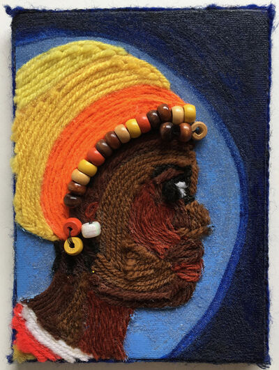 Nzuji De Magalhaes, 'African Woman', 2001