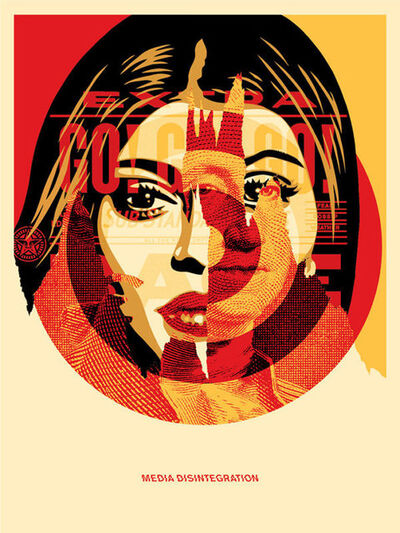 Shepard Fairey, 'Media Target', 2016