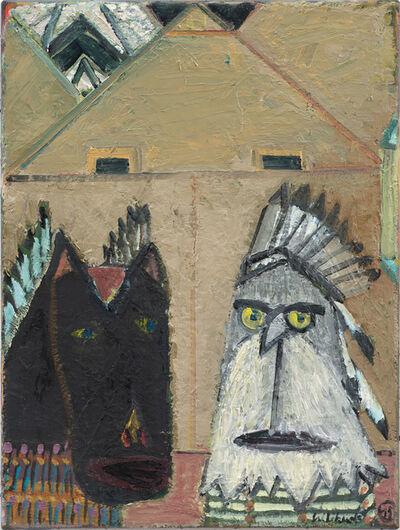Walter Libuda, 'Die Häuptlinge', 2015