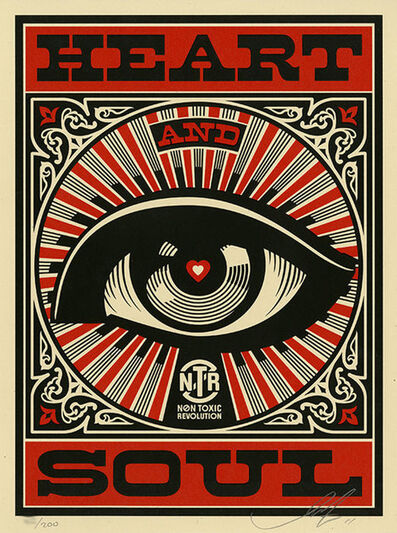 Shepard Fairey, 'Heart and Soul', 2011