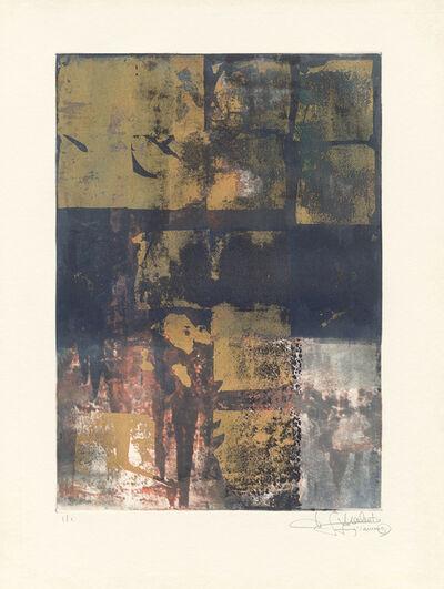 Makoto Fujimura, 'Van Nuys Monotype Series No. 12 凡奈斯絹印單刷系列', 2017