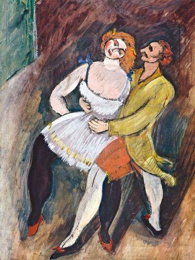 Max Weber, 'Two Dancers, Russian Ballet'