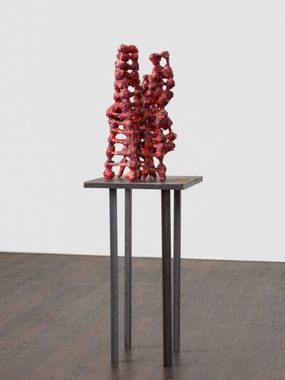 Phyllida Barlow, 'untitled: redfleshtowers; 2020 lockdown 7', 2020