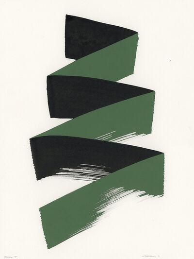 Clint Fulkerson, 'Stroke 5 (green)', 2019