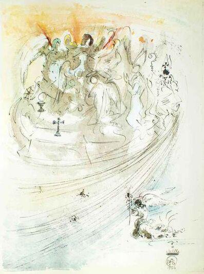 """Salvador Dalí, 'Illustration from """"Pater Noster""""', 1966"""