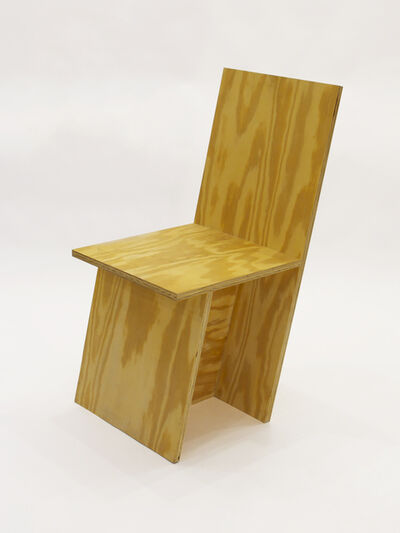 RO/LU, '+ Chair Slanted', 2010
