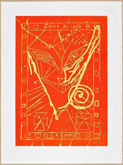 Jonathan Meese, 'GRINS' DOCH nicht so KULTURELL, sieh' Fu bläh'!', 2012