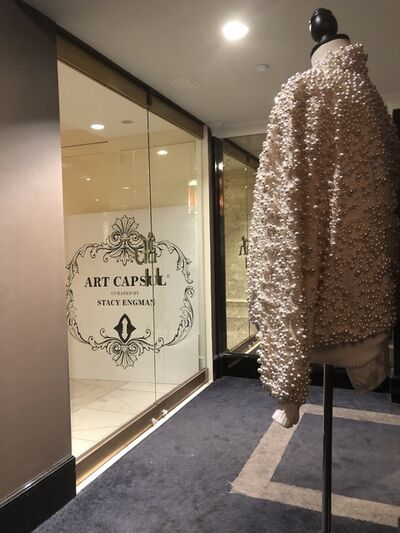 Terence Koh, 'ART CAPSUL Curated by Stacy Engman - Haute Couture Pearl Bomber Jacket Sculpture', 2013